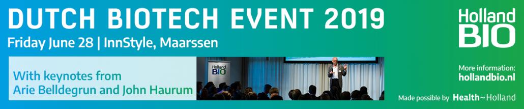Dutch Biotech Event 2019